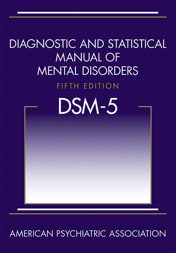A picture of the cover of the DSM5.