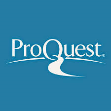 Thumbnail image of ProQuest logo.