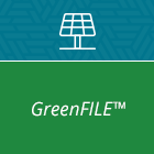 Logo for GreenFILE database