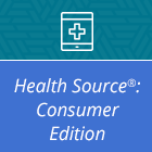 Logo for Health Source: Consumer Edition database.
