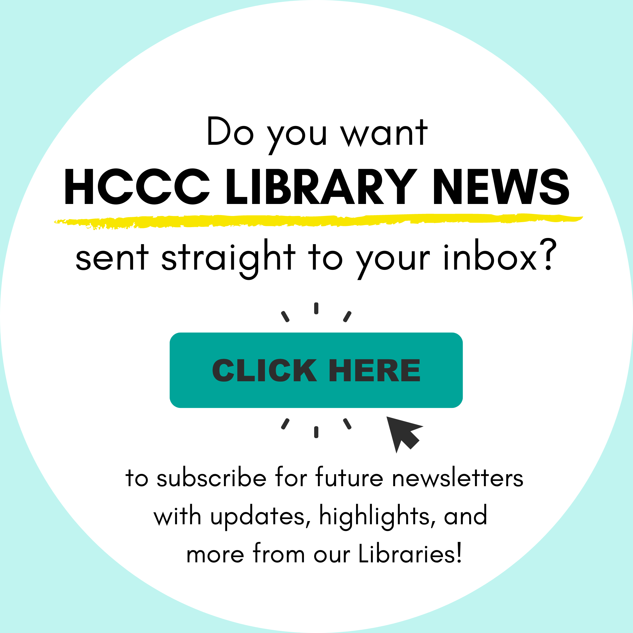 Subscribe to our library newsletter