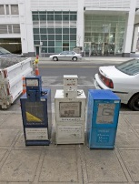 Photo of newspaper boxes
