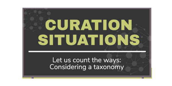 Curation situations link