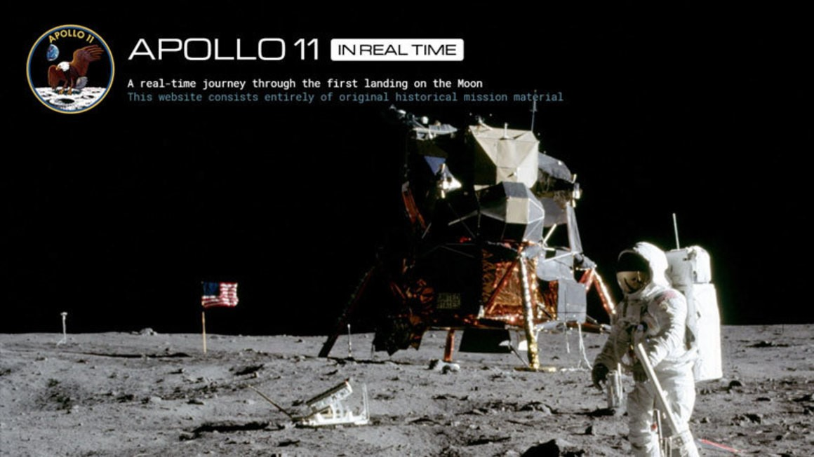 Apollo 11 In Real Time image