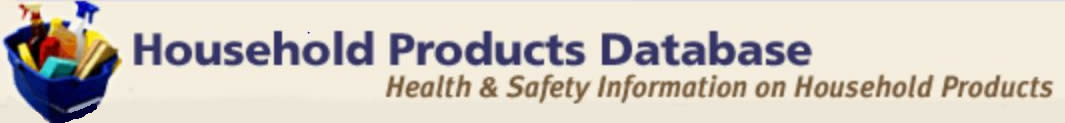 Household Products Database link
