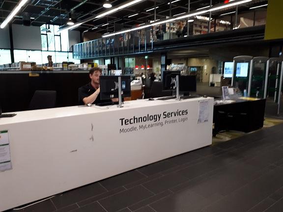 ITS service desk
