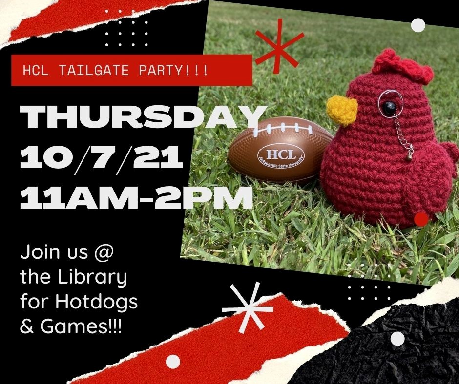 Library Tailgate Flyer