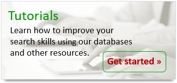 Improve your research skills in our databases and other resources with our tutorials