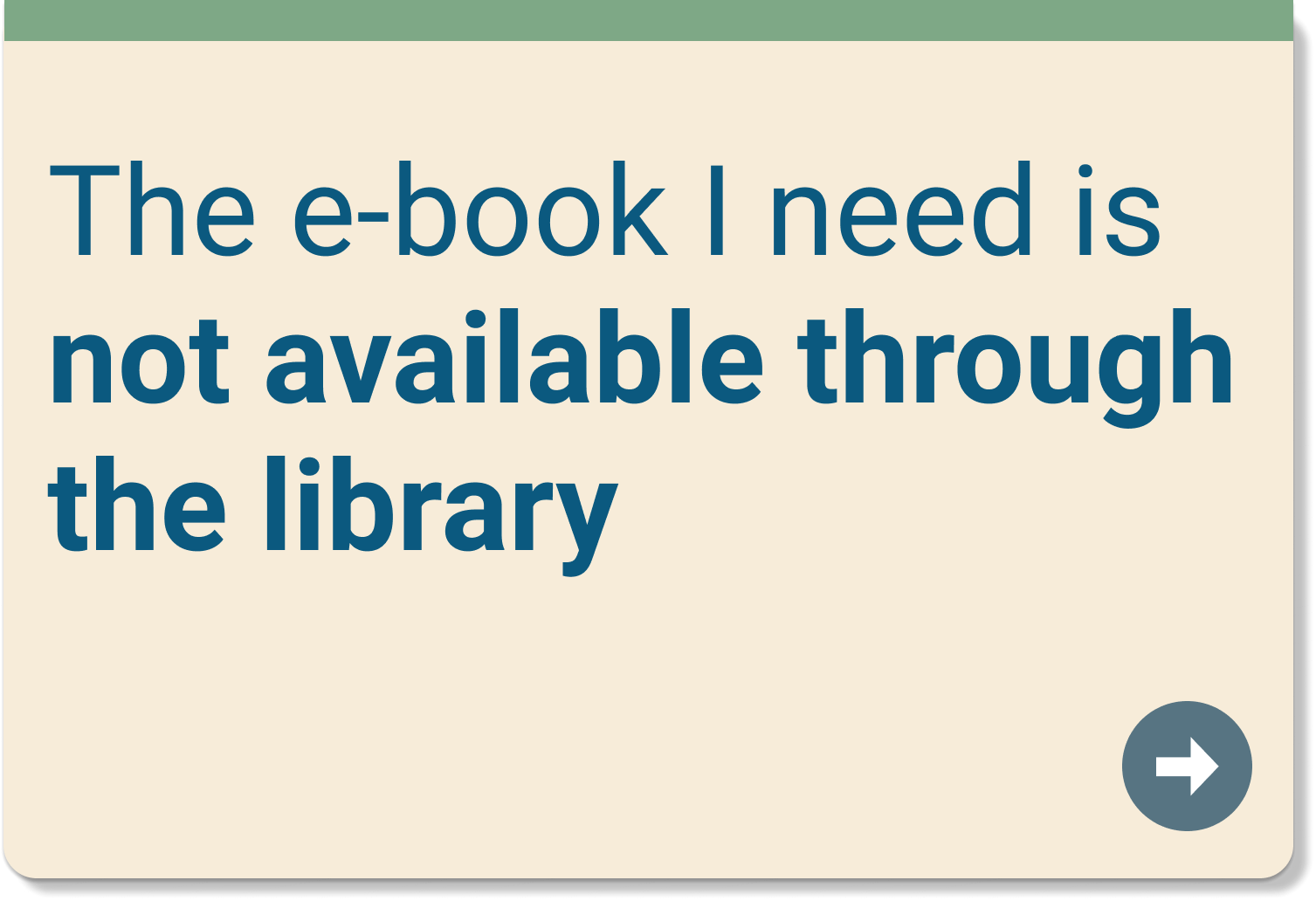 eBook is not available through the library