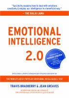 Emotional intelligence 2.0 : the world's most popular emotional intelligence test