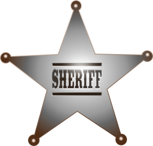 image of sheriff's star