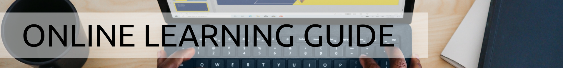 Online Learning Guide banner