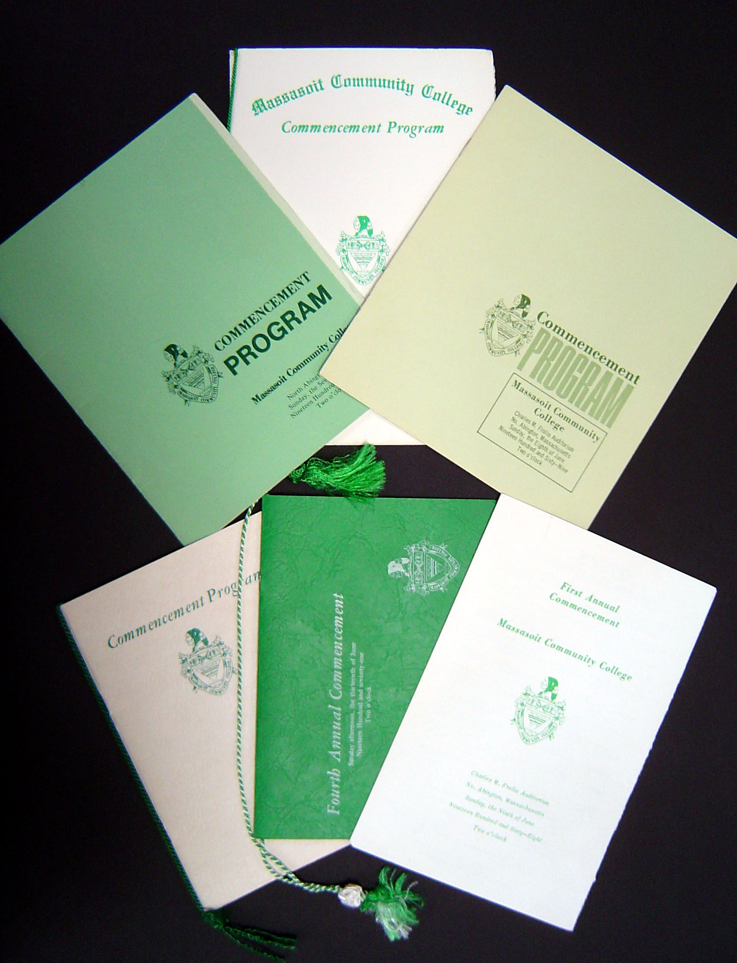 commencement program covers