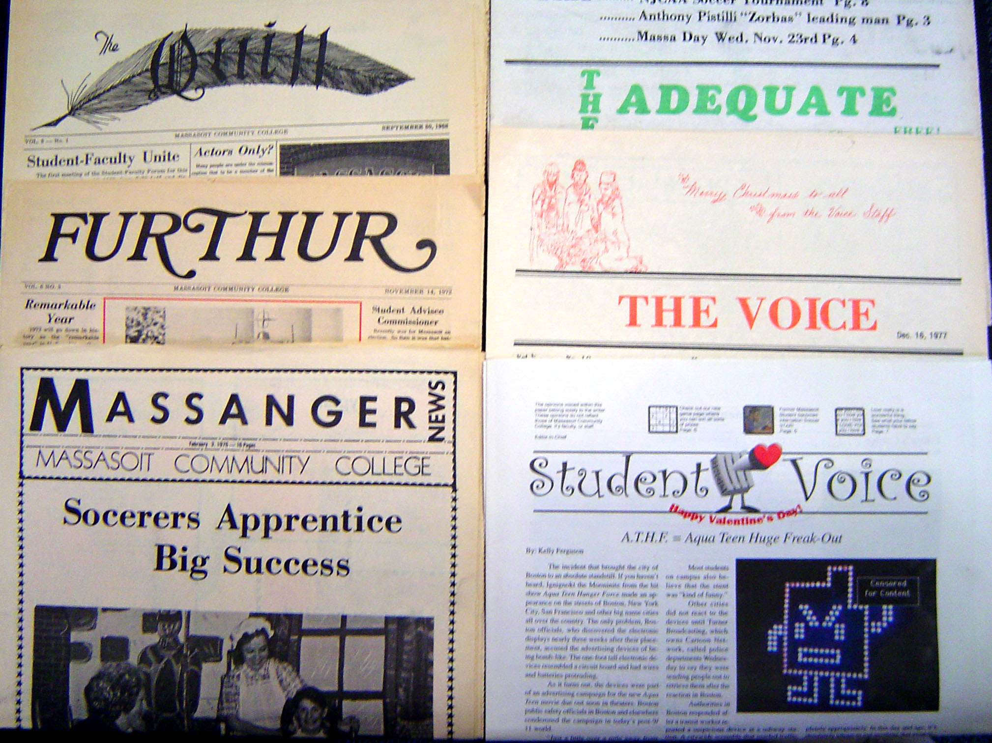 Student newspaper images