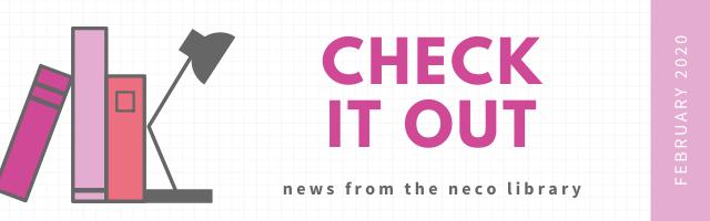 Library newsletter header
