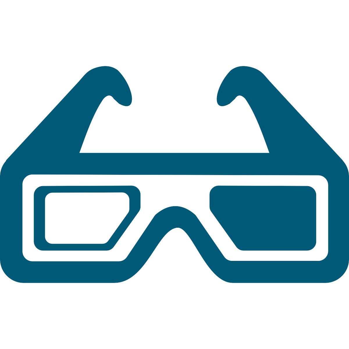 image of 3D glasses