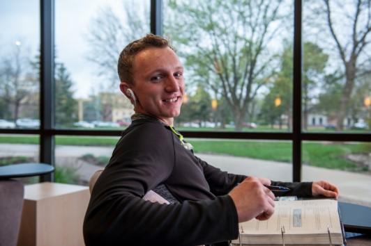 Harley Ries, Minnesota State Mankato student