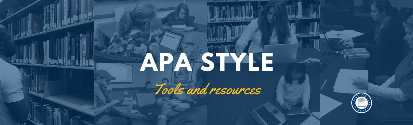 Welcome Banner: APA Resources