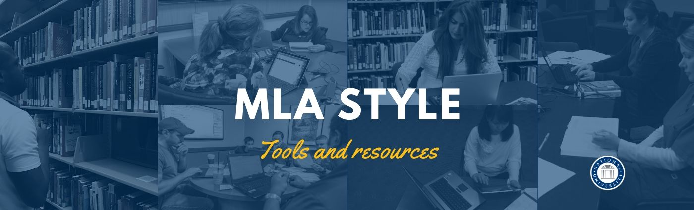 Welcome Banner: MLA Resources