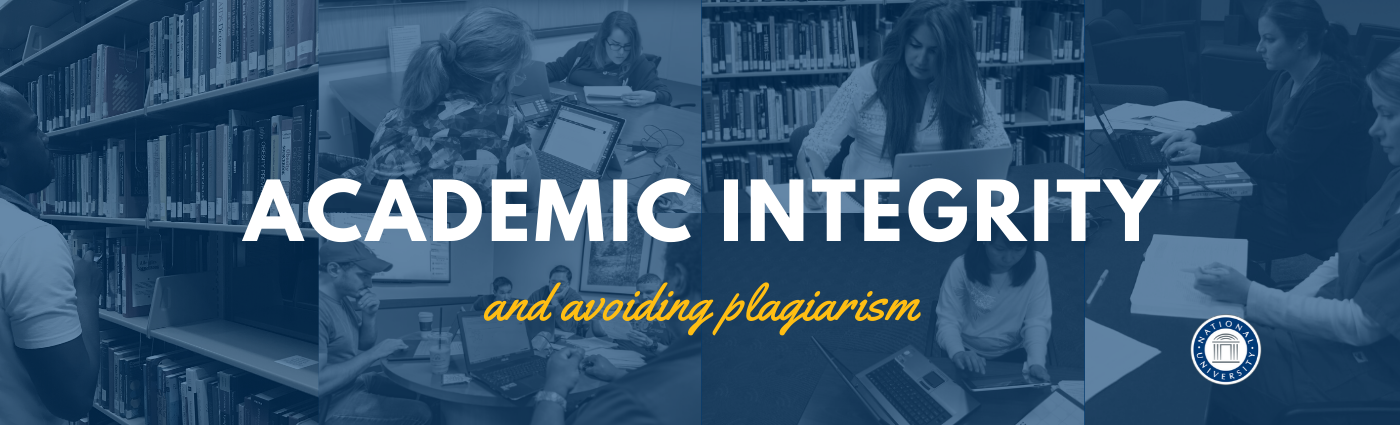 Welcome Banner: Academic Integrity