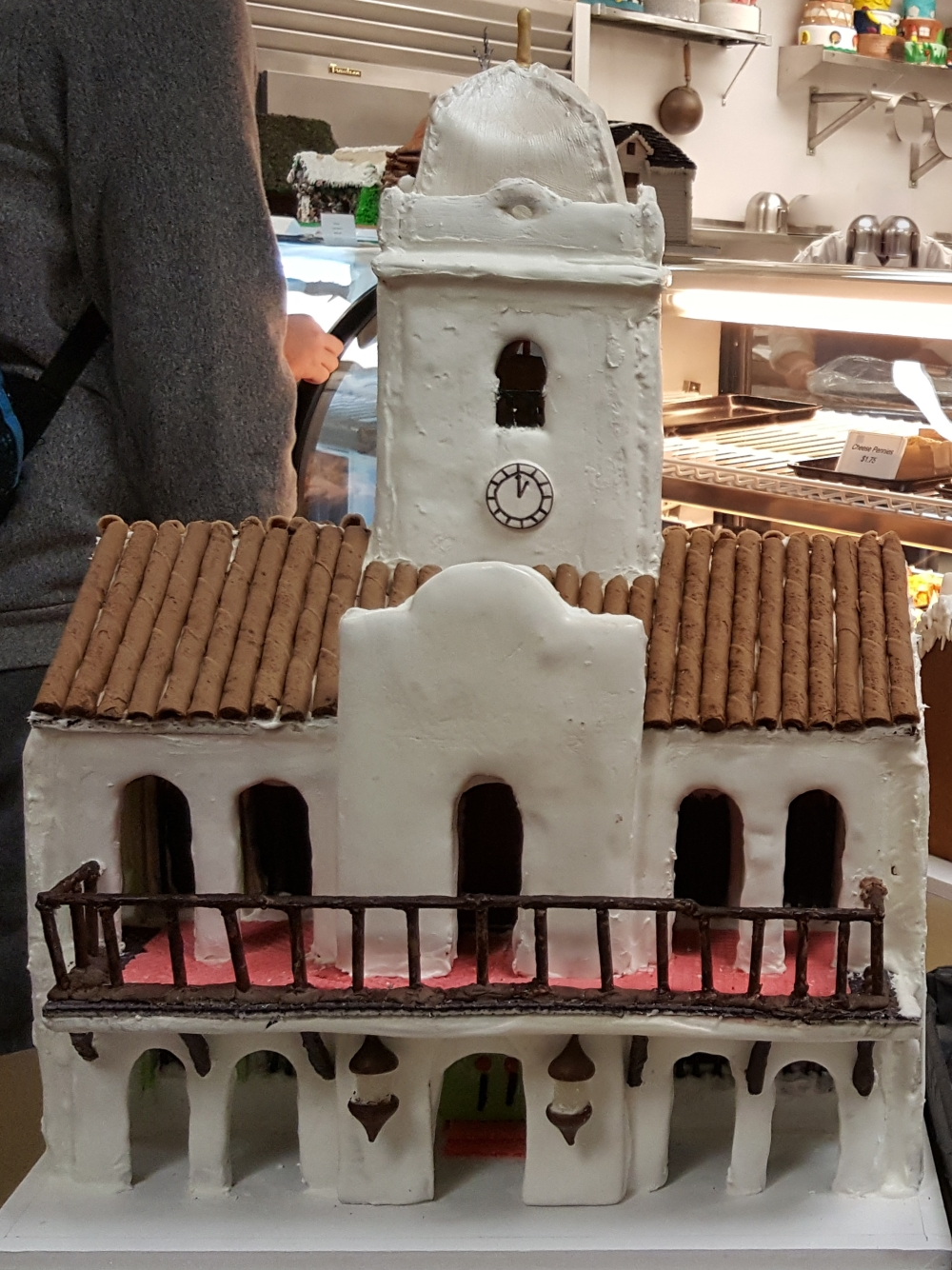 2016 Gingerbread 3 Story Abobe House
