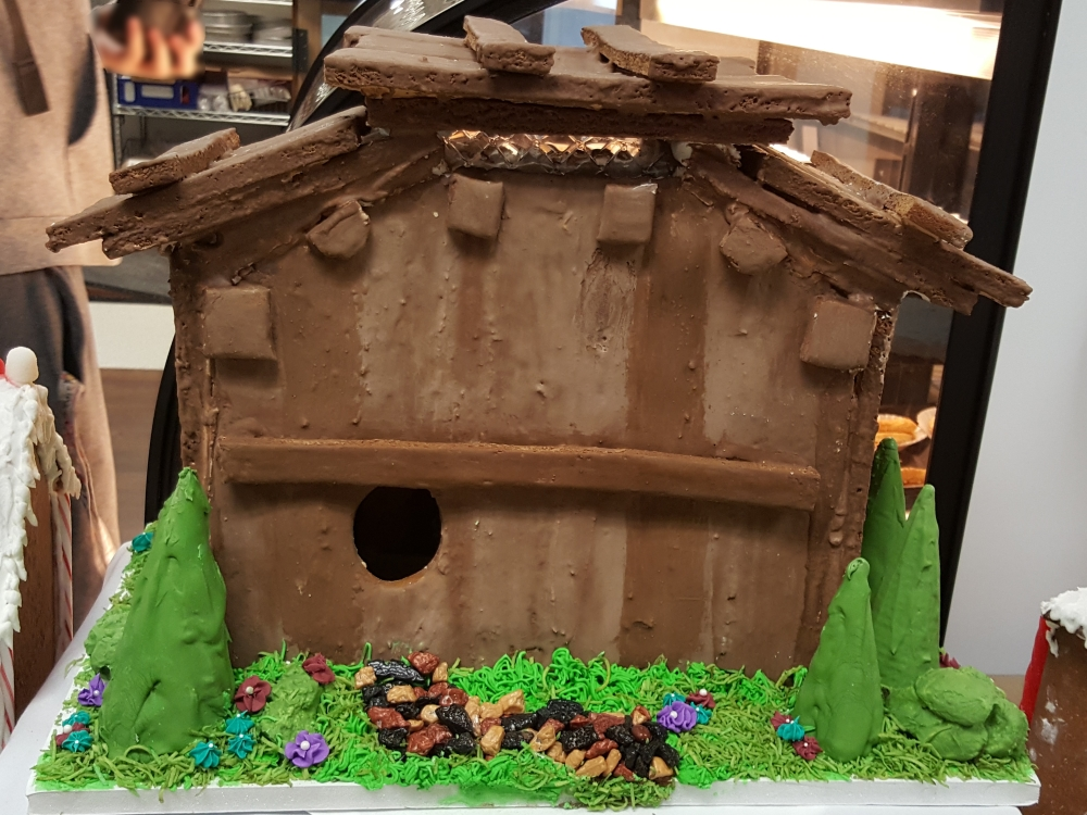 2016 Gingerbread African Wood House