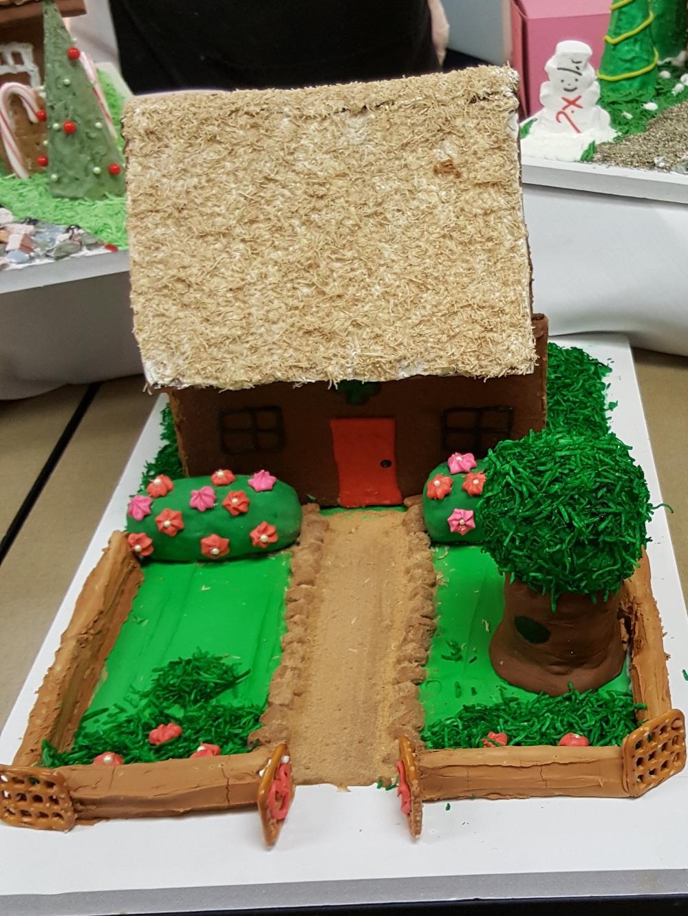 2016 Gingerbread African House & Garden