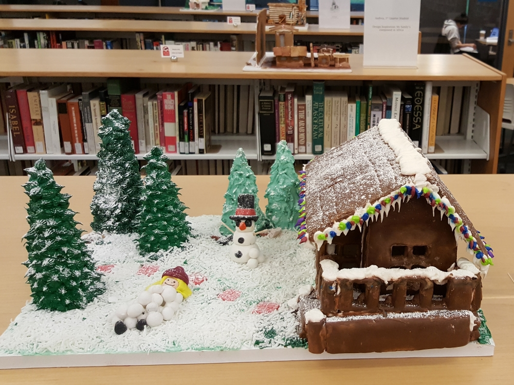 2017 Gingerbread Winter House