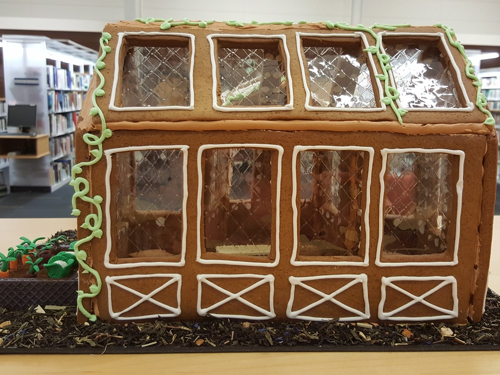 2018 Gingerbread Greenhouse - back view