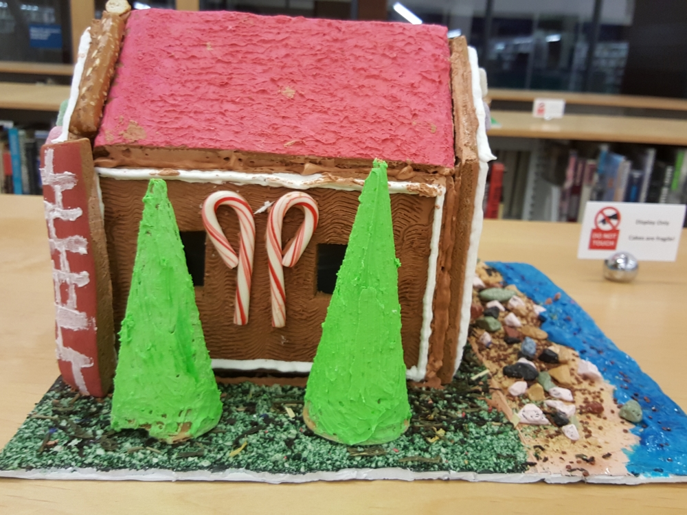 2018 Gingerbread Riverfront House - left view