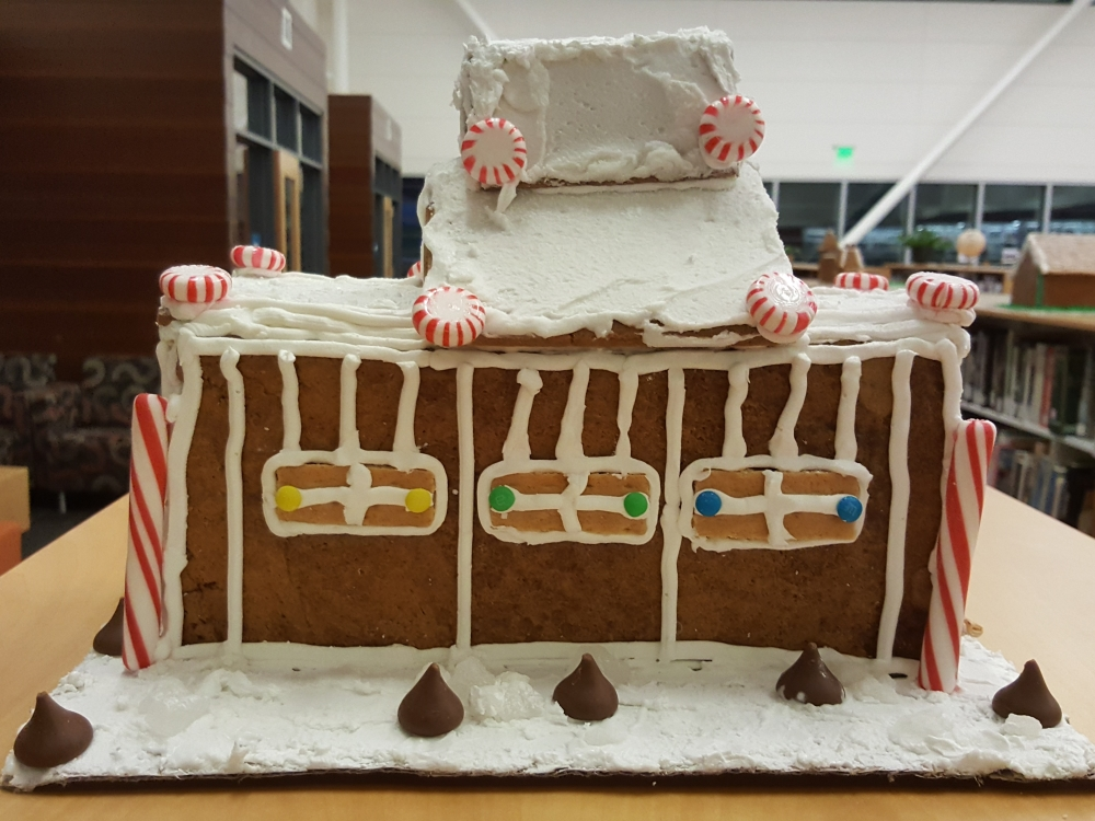 2018 Gingerbread Candycane House - right