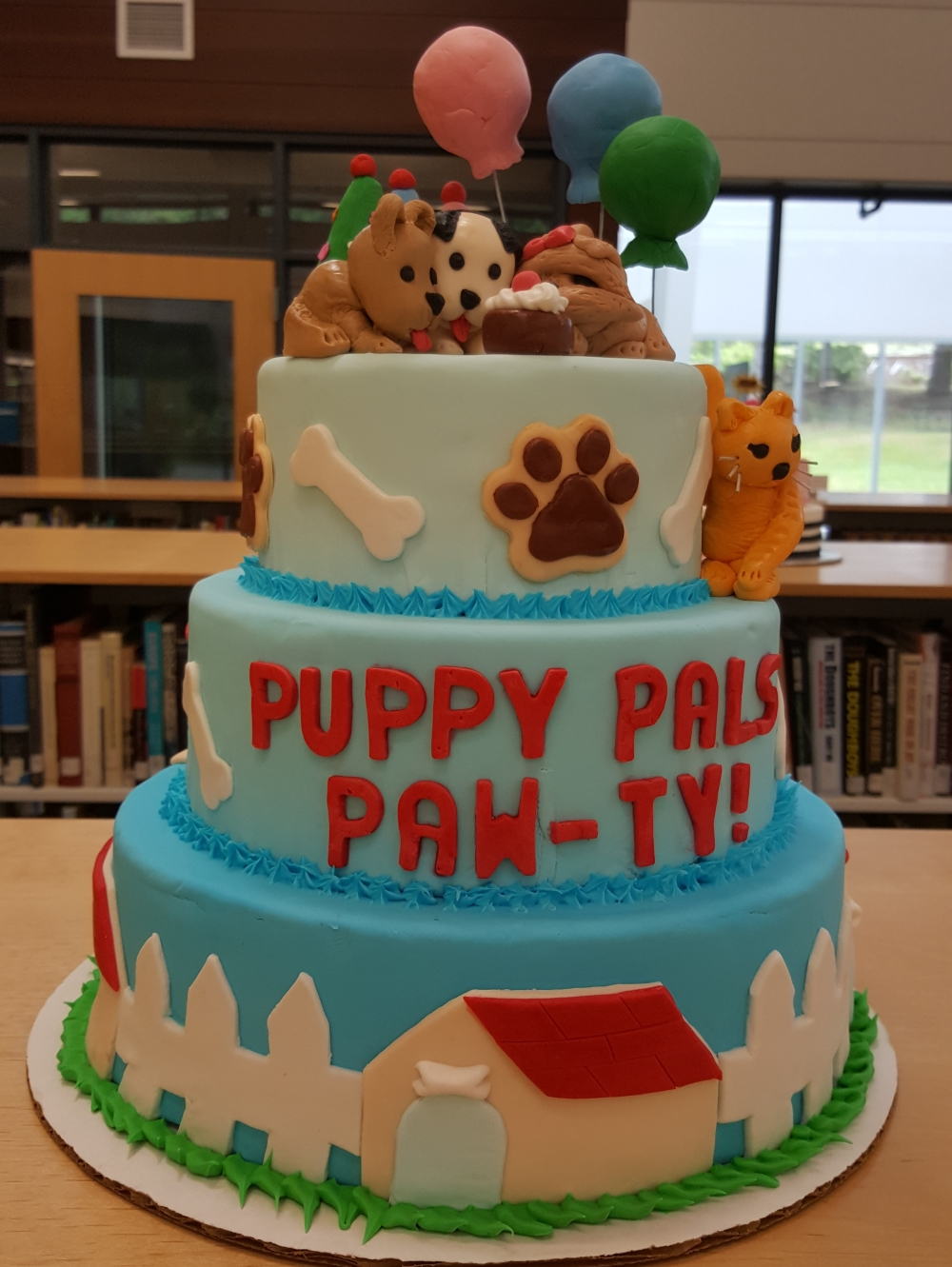 2019 Cakes Puppy Pals Pawty - front view