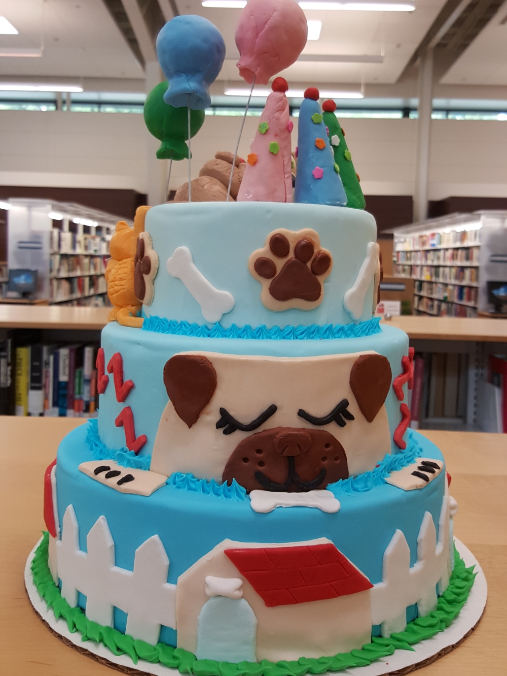 2019 Cakes Puppy Pals Pawty - back view