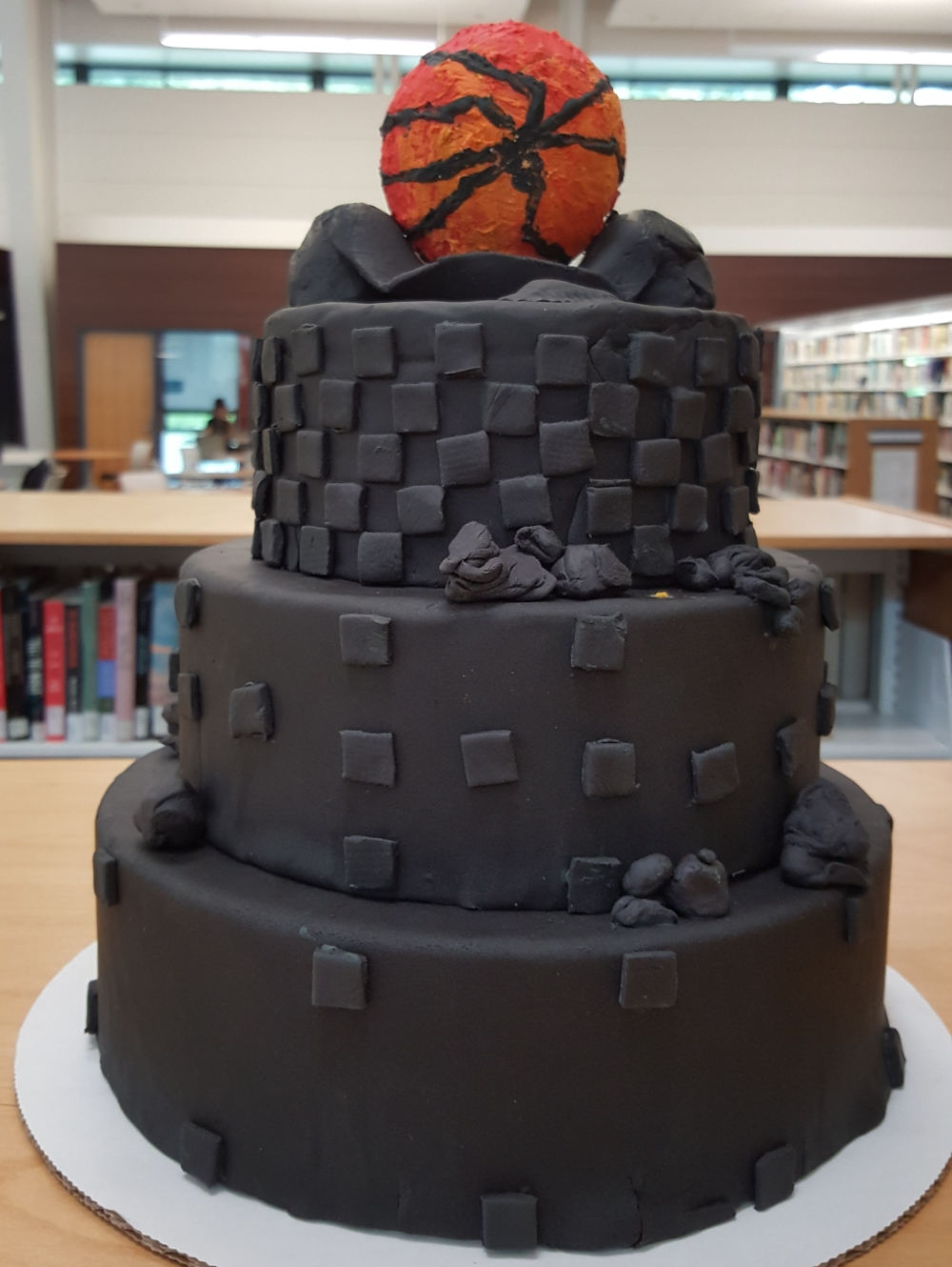 2019 Cakes Eye of Mordor Tower - back view