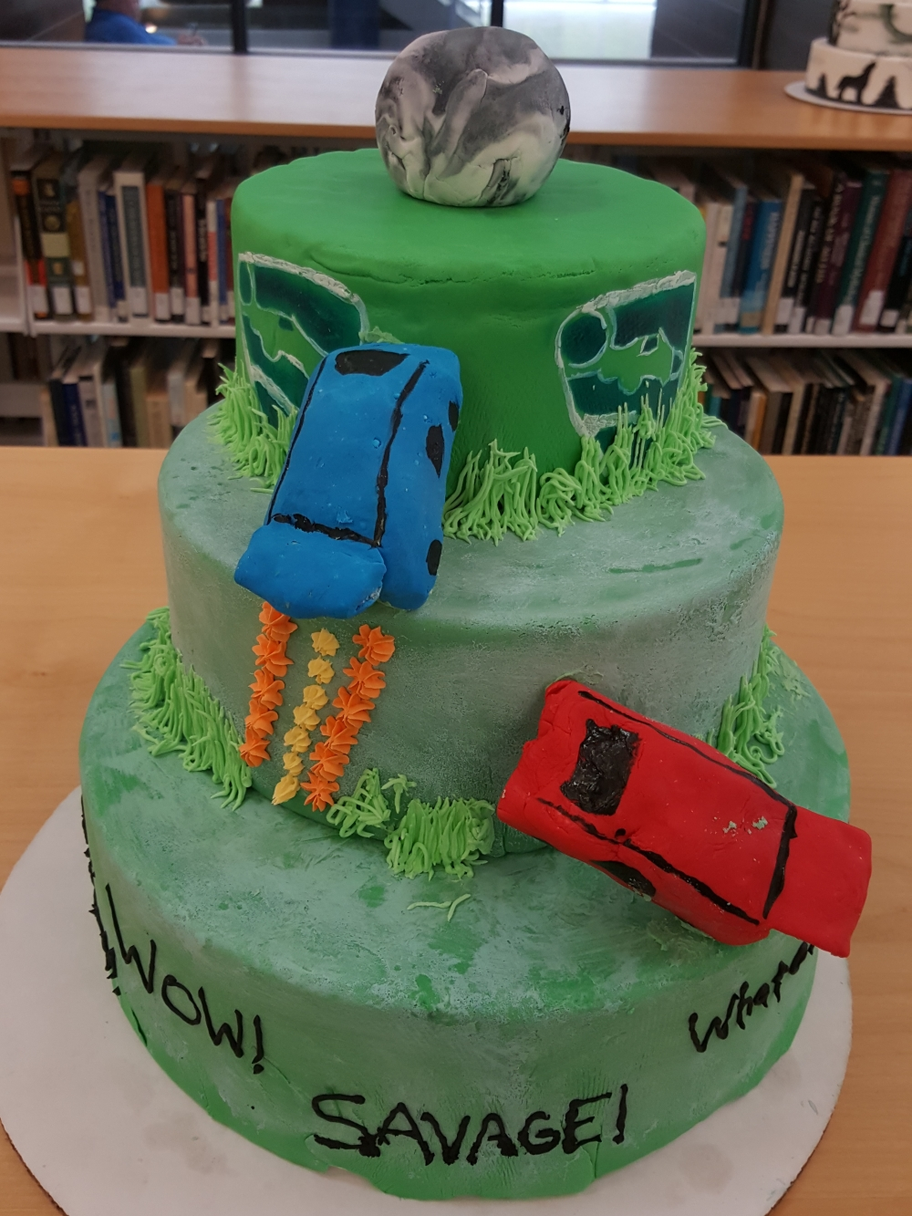 2019 Cakes Car Race - front view