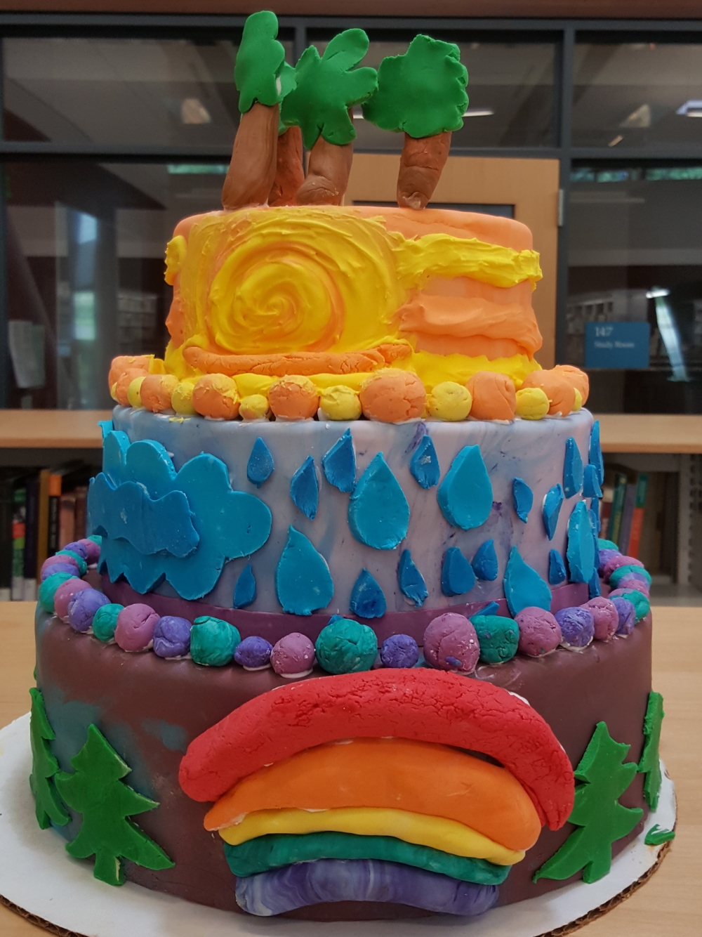 2019 Cakes Weather - front view