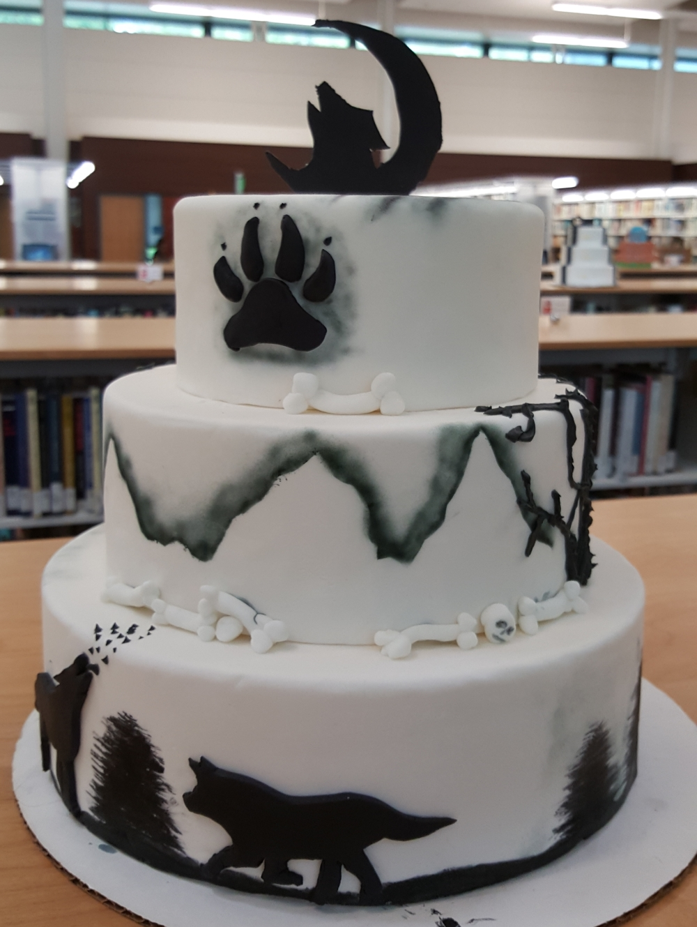 2019 Cakes Wolves - back view