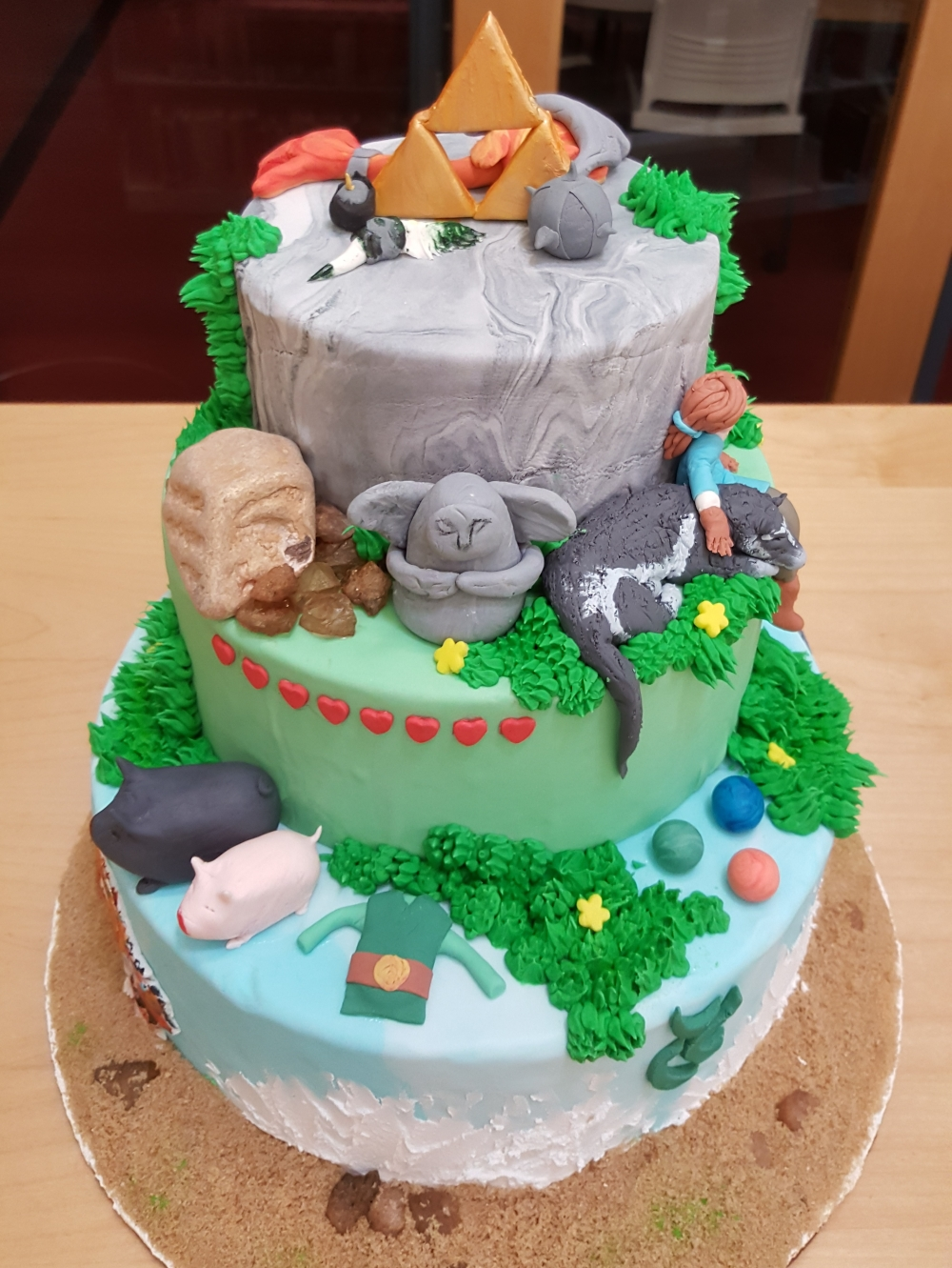 2019 Cakes Nature - top view