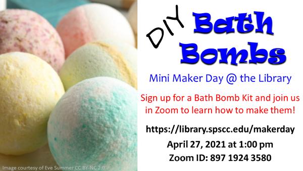 DIY Bath Bomb poster