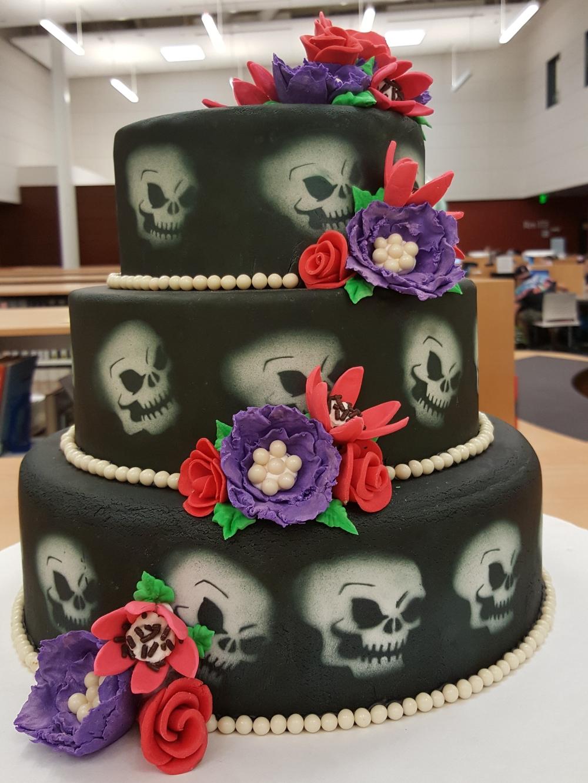 2017 Cakes Skulls & Flowers