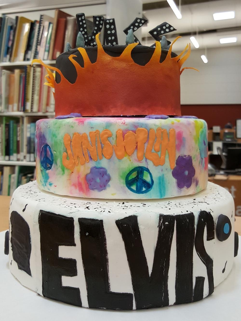 2017 Cakes Elvis