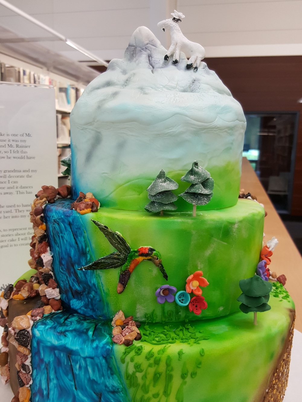 2017 Cakes Mountain - front view