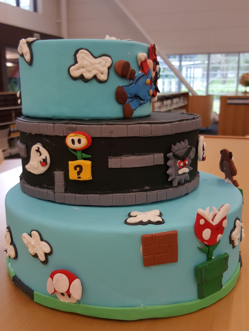 2018 Cakes Mario Brothers - left view