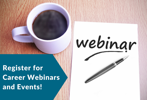 Career Services Webinars and Events