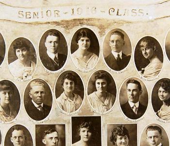 MTSU 1916 Senior Class Photos