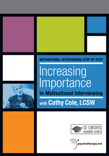 Increasing Importance in Motivational Interviewing (2012)