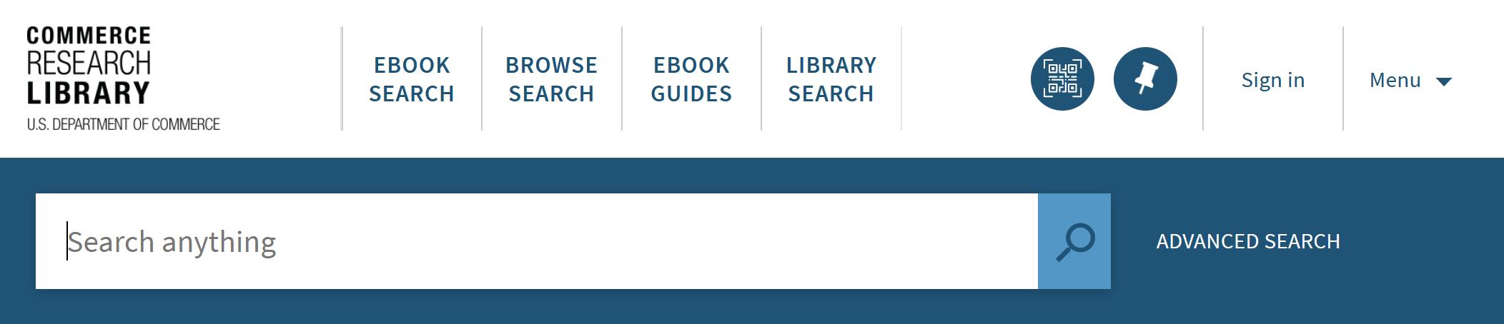 eBook Search Header