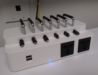 Device charging unit