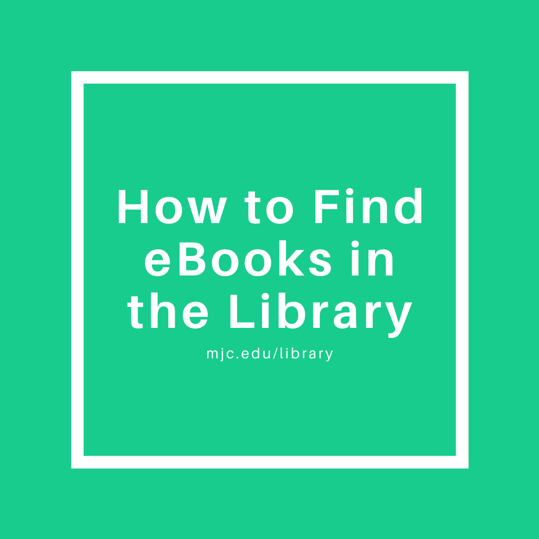 how to find ebooks