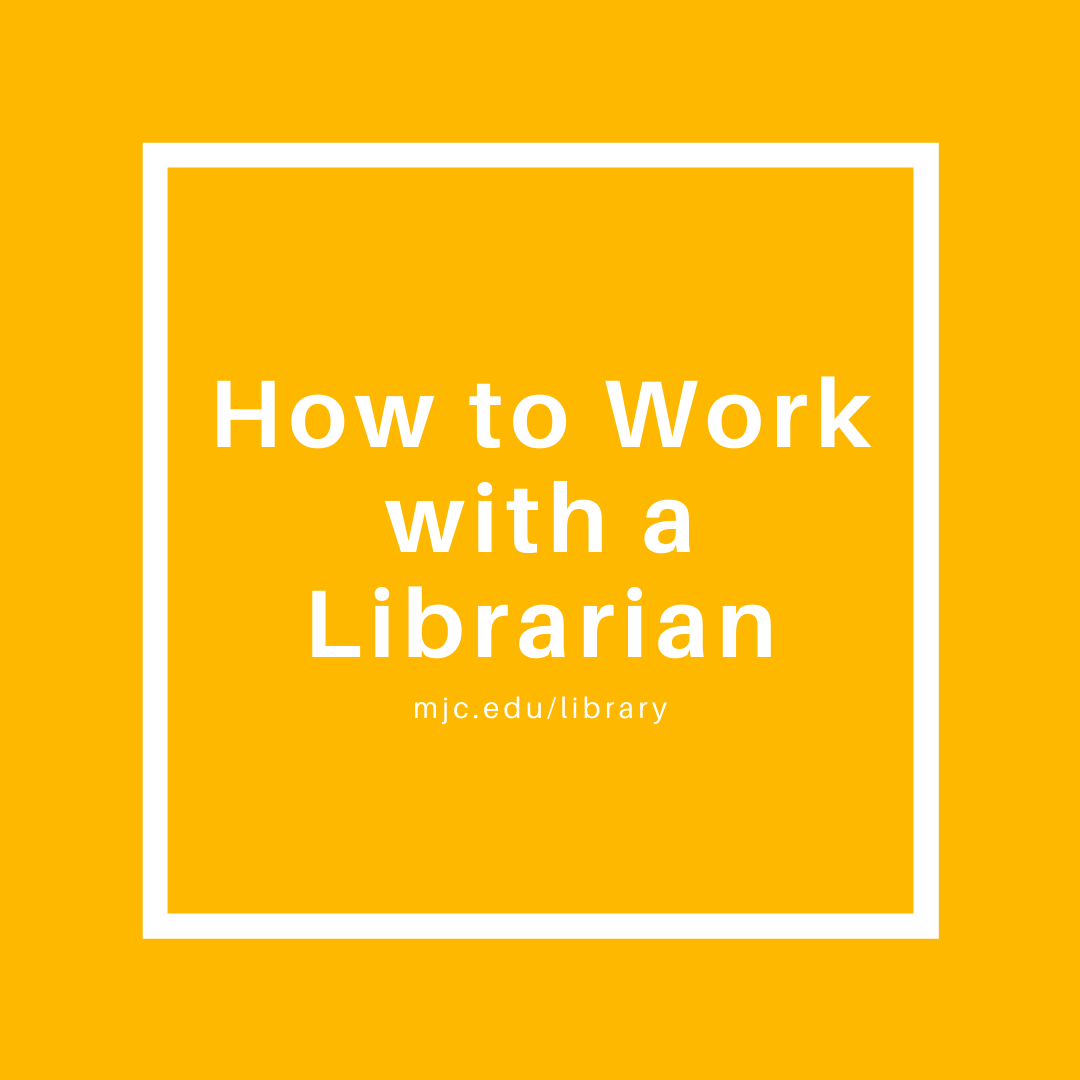 how to work with a librarian